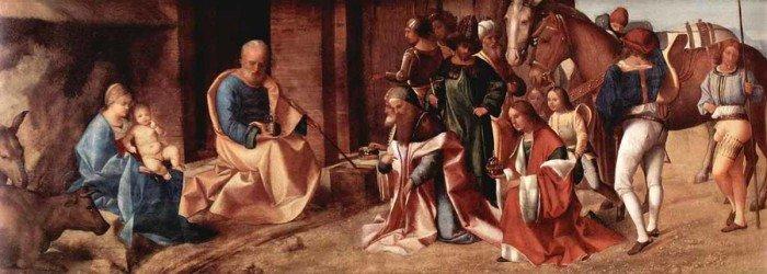 Поклонение волхвов. Джорджоне, 1504