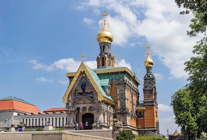 Русский храм святой равноапостольной Марии Магдалины на Матильденхёэ