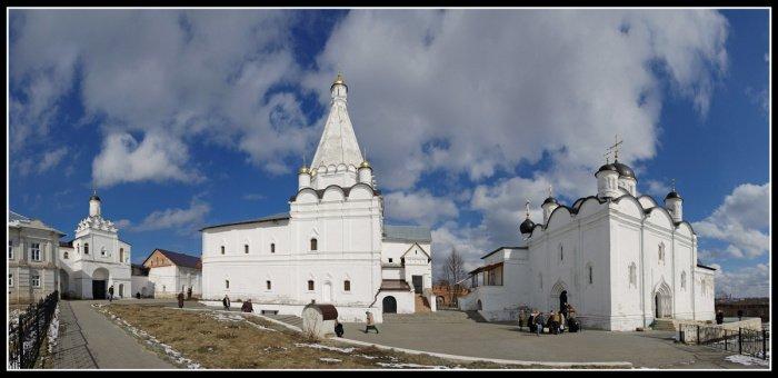 Введенский владычный монастырь: обитель святителя Алексия