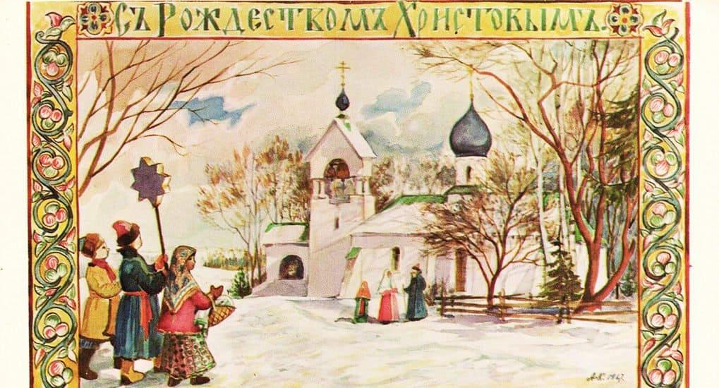 """Как вРоссии начали """"толкаться"""" Новый год и Рождество"""