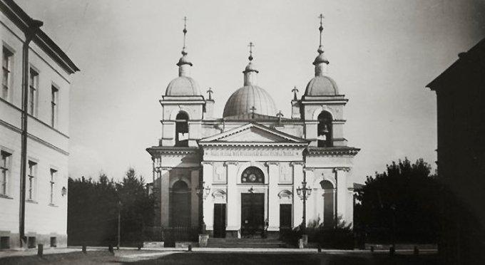 В Петербурге восстановят Рождественский храм на Песках