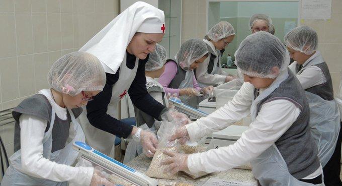 «Народные обеды» будут фасовать в Боровском монастыре