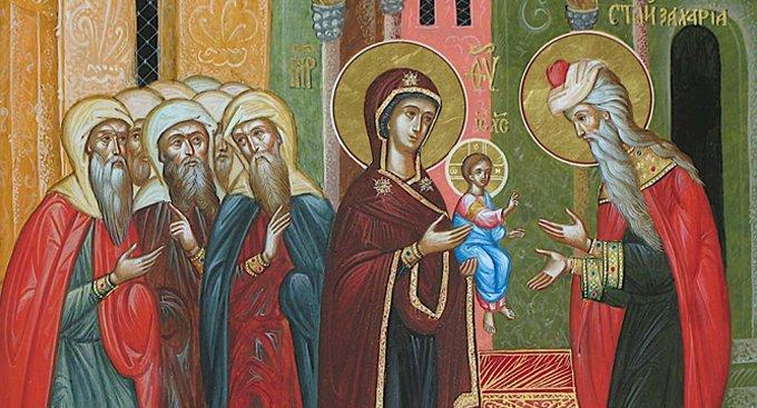 Православные празднуют Обрезание Господне и память Василия Великого