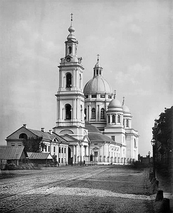 Богоявленский собор в 1882 году