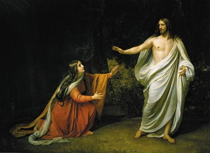 Явления Христа святым: критерии истины