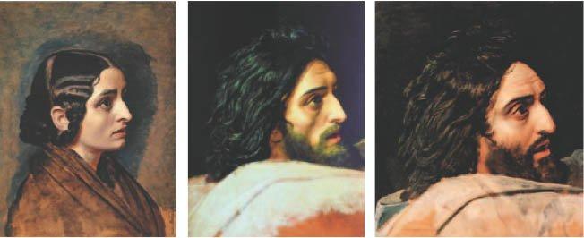 Ивановский метод «сличения и сравнения»: эскизы головы Иоанна Крестителя. 1830–1840-е гг.