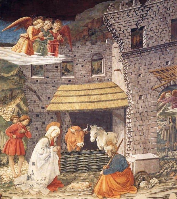 Филиппо Липпи. Рождество. 1467-1469