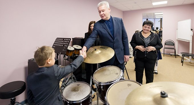 В Москве открыли сразу четыре новые музыкальные школы