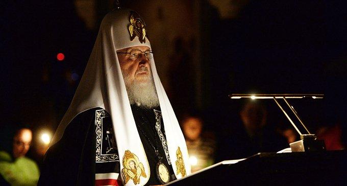 Патриарх Кирилл начал великопостное чтение канона Андрея Критского