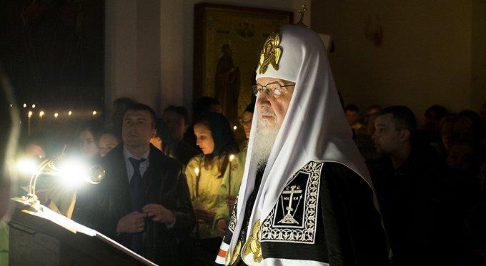 Патриарх Кирилл призвал в пост не забывать о милосердии и молитве
