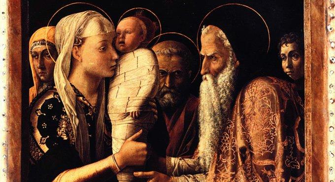 Сретение Господне. Андреа Монтенья, 1465-1466 г.