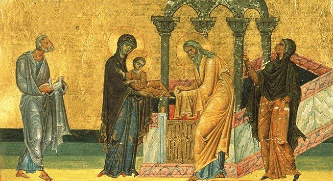 Православная Церковь празднует Сретение Господне