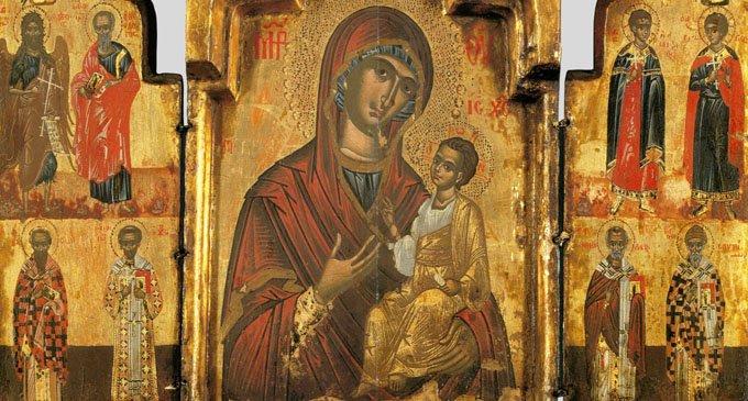История Иверской иконы Пресвятой Богородицы
