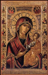 Икона, находящаяся в Новодевичем монастыре
