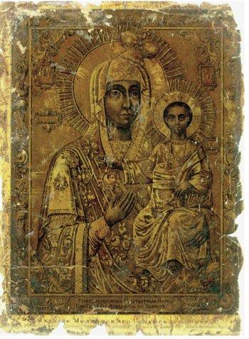 Моздокская Иверская икона (1878 год)