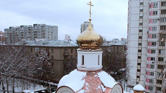 В Москве возвели первый храм в честь царственных страстотерпцев