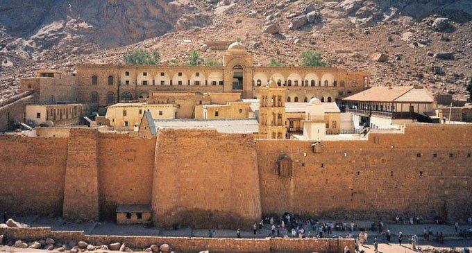 Монастырь святой Екатерины на Синае, фото Compfight