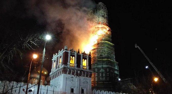 Реставрация колокольни Новодевичьего монастыря пройдет в полном объеме