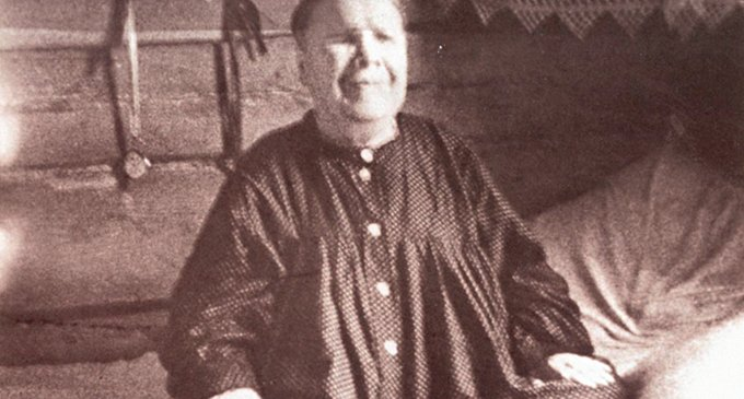 Блаженная Матрона. Фото 1952 г.