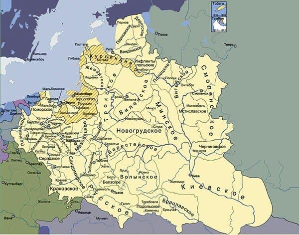 Речь Посполитая — государство в Восточной Европе, в состав которого входили польские, литовские и русские земли. В конце XVIII века было разделено соседями и навсегда исчезло с политической карты.