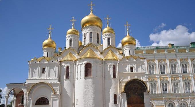 На Благовещение патриарх Кирилл совершит Литургию в храме Кремля