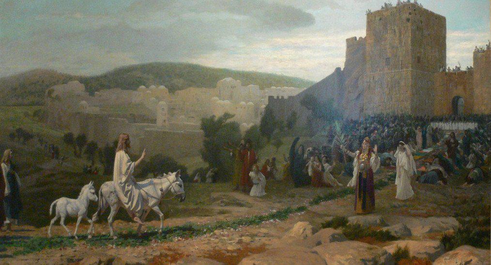 «Осанна в вышних! Благословен Царь, грядущий во имя Господне!»