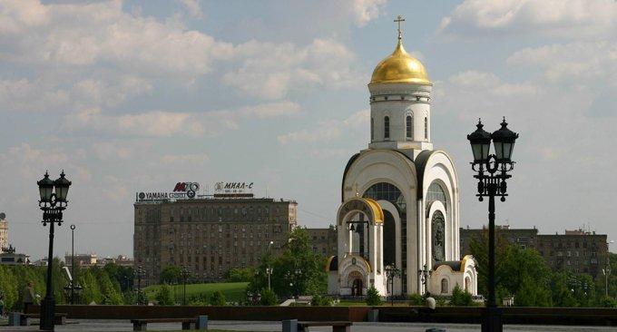 В Москве мощи святого Георгия Победоносца примет храм на Поклонной горе