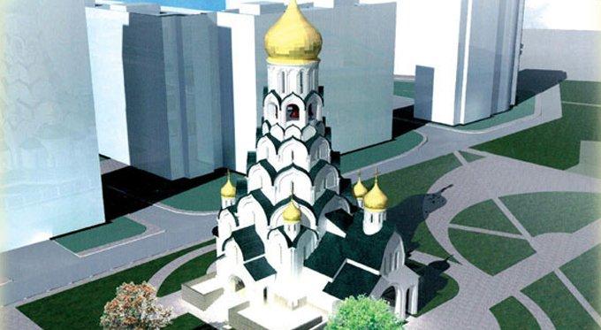 Уникальный храм «под колоколы» достроят в Строгино в текущем году
