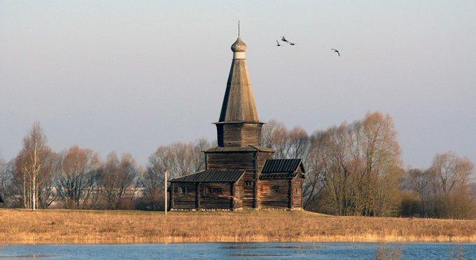 Для реставрации деревянного храма его разберут по бревнам
