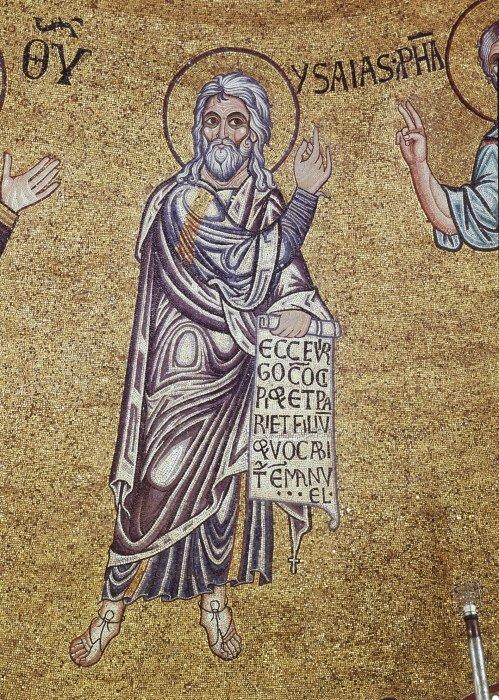 Пророк Исаия. Собор святого Марка, XII в., Венеция.