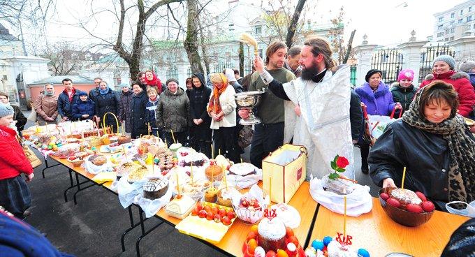 Более 90% россиян готовятся встретить Пасху Христову
