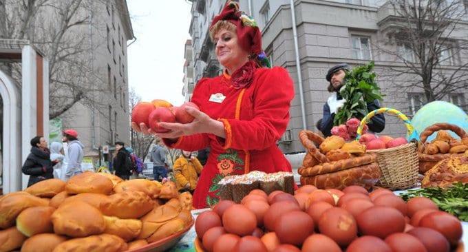 Центром пасхальных празднеств в Москве станет Цветной бульвар