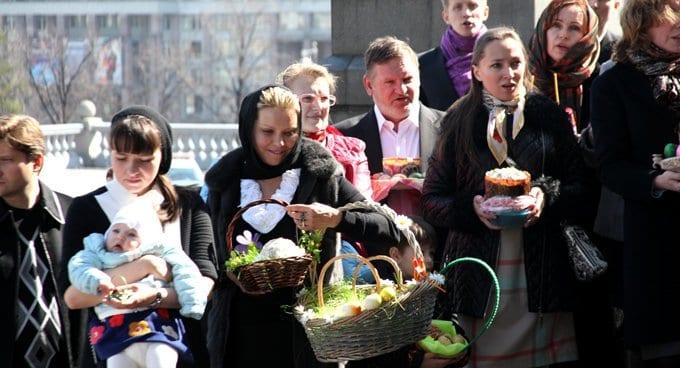 Православные готовятся встречать Пасху