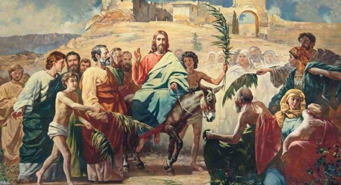 Православные празднуют Вход Господень в Иерусалим