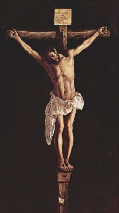 Христос на кресте. Франциско де Сурбаран, 1627