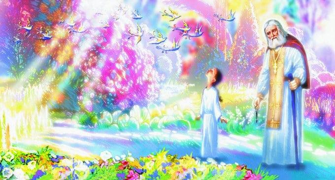 Один из эскизов к мультфильму «Необыкновенное путешествие Серафимы»