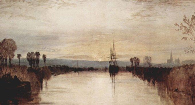 «Канал в Чичестере», 1828 г.