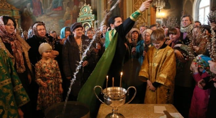 Традиции Вербного воскресенья