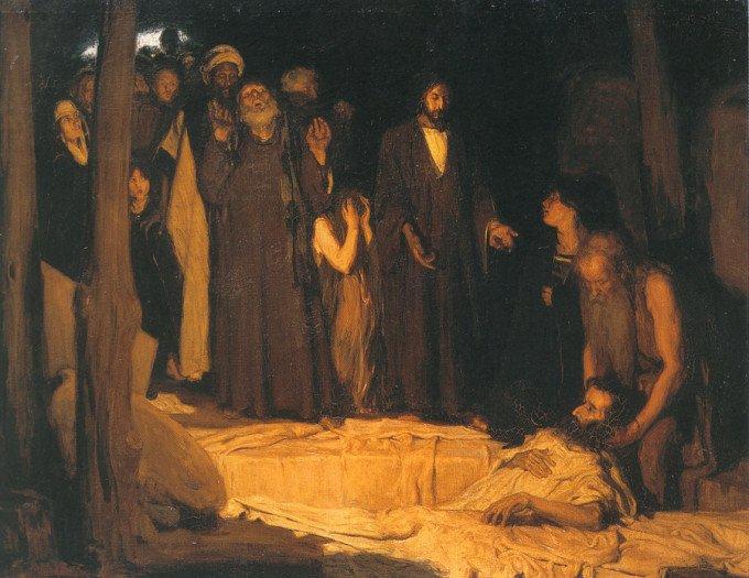 Воскрешение Лазаря. Henry Ossawa Tanner, 1896