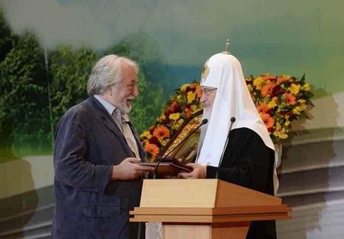 Патриарх Кирилл и Юрий Кублановский
