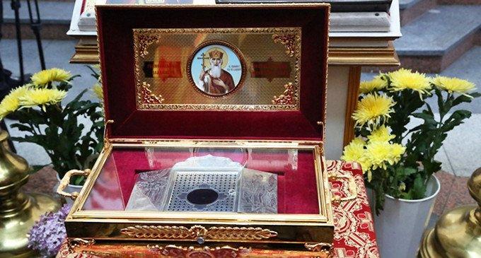 В Москве помолятся перед мощами святого князя Владимира