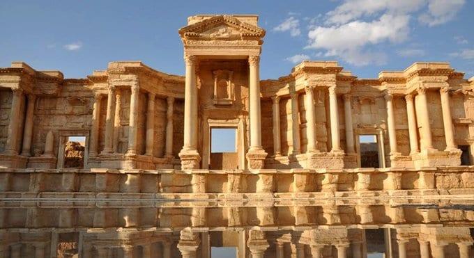 Наследие древней Пальмиры оказалось в руках экстремистов