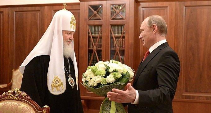 Владимир Путин отметил ведущую роль Русской Церкви в духовной жизни страны