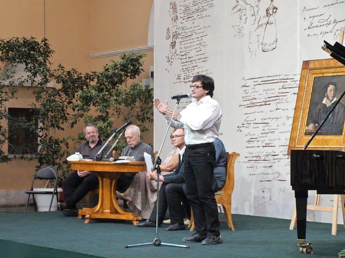 Выступление Павла Крючкова, заместителя главного редактора журнала «Новый мир»