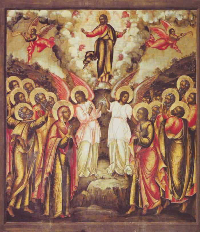 икона Вознесения Господня