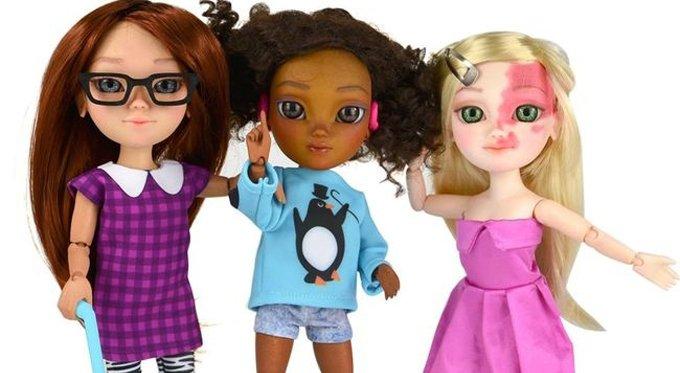 В Британии раскупают «особенных» кукол