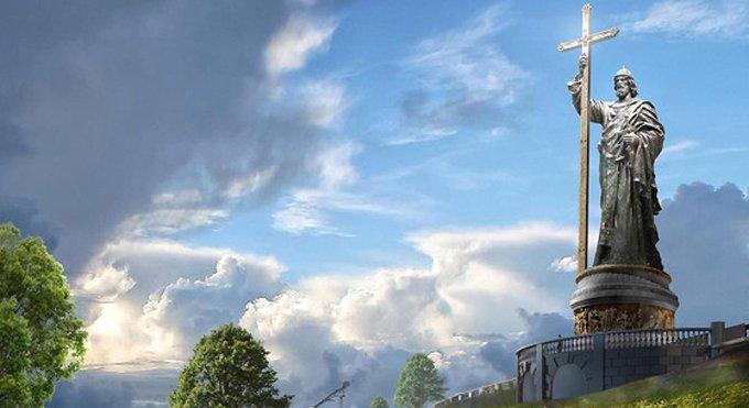 Памятник князю Владимиру могут установить не на Воробьевых горах