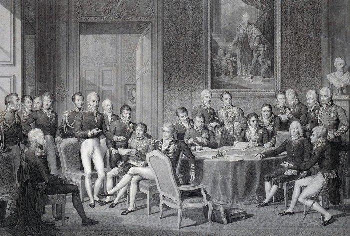 Венский конгрес 1814-1815 годов. Гравюра Ж. Годфруа по оригиналу Жана-Батиста Изабе