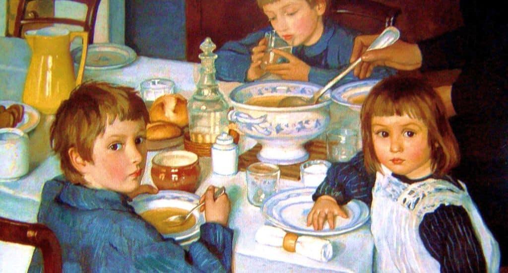 Опрос о семейных традициях