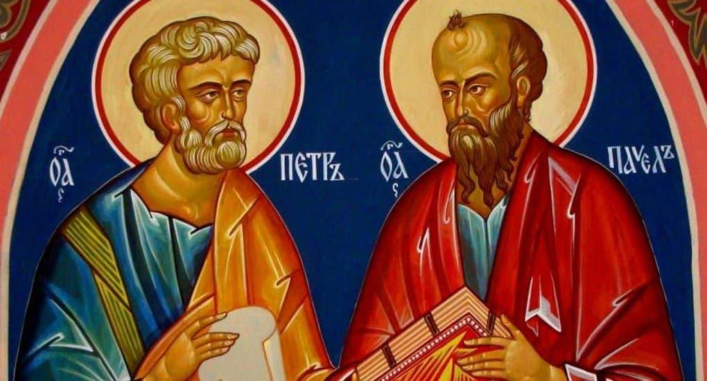 Православные празднуют память святых апостолов Петра и Павла